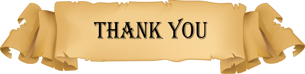 Males Ireland Thank You banner